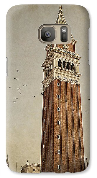 Galaxy Case featuring the photograph Tower In Venice by Ethiriel  Photography
