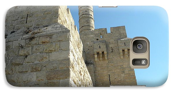 Galaxy Case featuring the photograph Tower Of David Israel by Robin Coaker