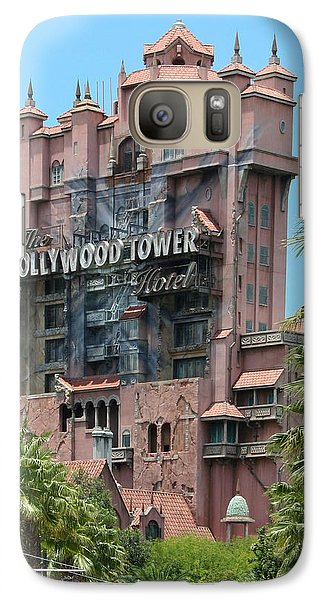 Galaxy Case featuring the photograph Tower Of Terror by John Black