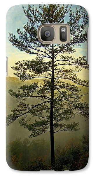 Galaxy Case featuring the photograph Towering Pine by Suzanne Stout
