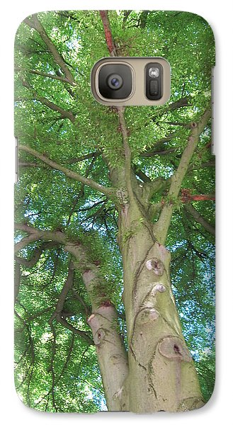 Galaxy Case featuring the photograph Towering Tree by Pema Hou