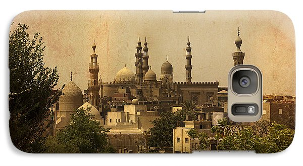 Galaxy Case featuring the photograph Towers Of Muslims Mosque In Cairo by Mohamed Elkhamisy