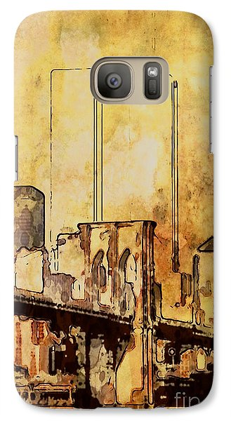 Galaxy Case featuring the photograph Towers Remembered  by Adam Olsen