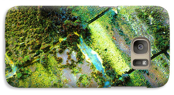 Galaxy Case featuring the photograph Toxic Moss by Christiane Hellner-OBrien