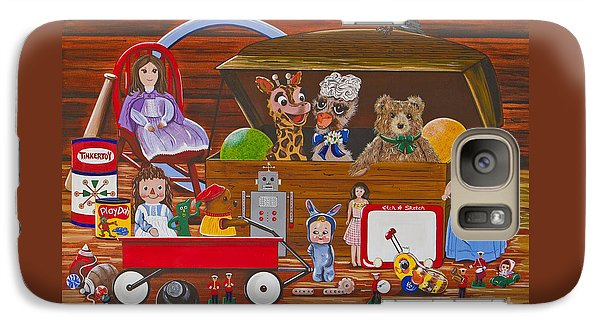 Galaxy Case featuring the painting Toys In The Attic by Jennifer Lake