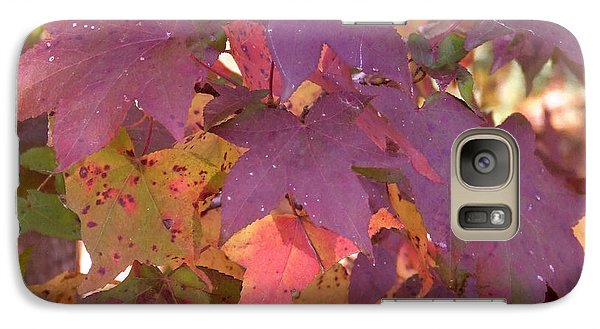 Galaxy Case featuring the photograph Traces Of Fall by Andrea Anderegg