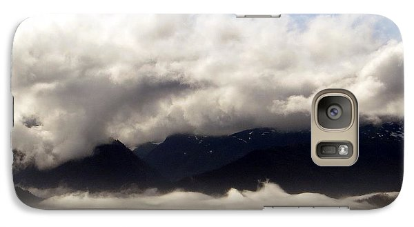 Galaxy Case featuring the photograph Tracy Arm Fjord by Jennifer Wheatley Wolf