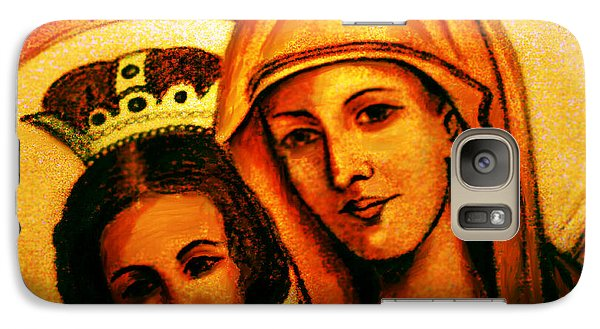 Galaxy Case featuring the painting Traditional Orthodox Icon by Persephone Artworks