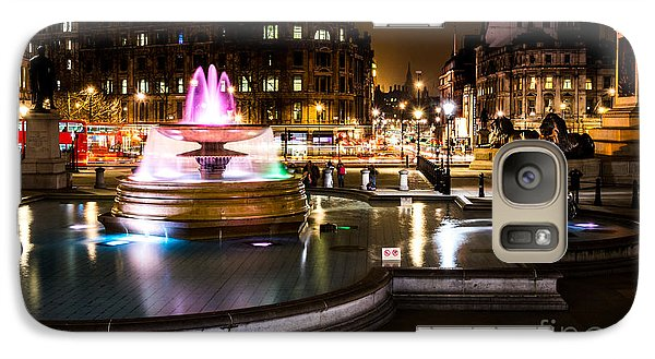 Galaxy Case featuring the photograph Trafalgar Square by Matt Malloy