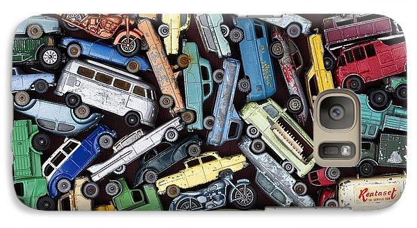 Traffic Jam Galaxy S7 Case by Tim Gainey