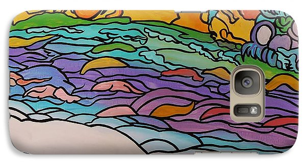 Galaxy Case featuring the painting Tragic by Barbara St Jean