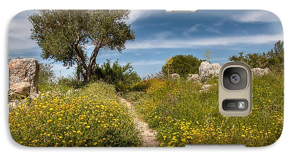 Galaxy Case featuring the photograph Trail Of Spring by Uri Baruch