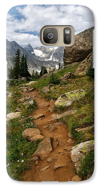 Galaxy Case featuring the photograph Trail To Lake Isabelle by Ronda Kimbrow