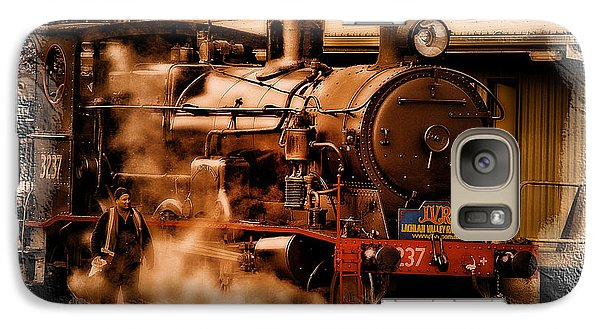 Galaxy Case featuring the photograph Train Art 3237 by Kevin Chippindall