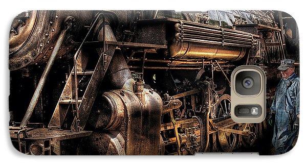 Train - Engine -  Now Boarding Galaxy S7 Case