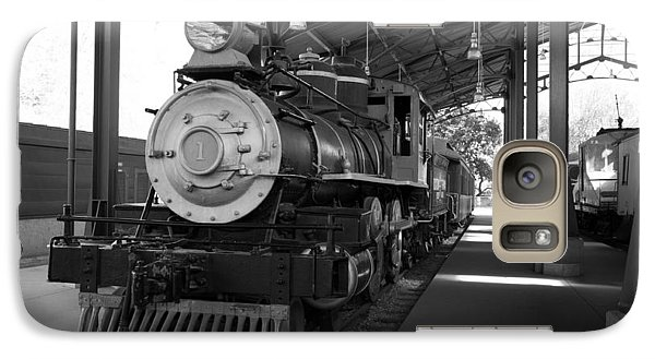 Galaxy Case featuring the photograph Train by Gandz Photography