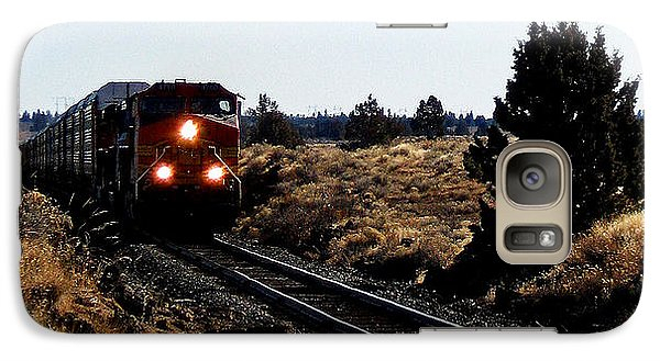 Galaxy Case featuring the photograph Train Tracks by Jennifer Muller