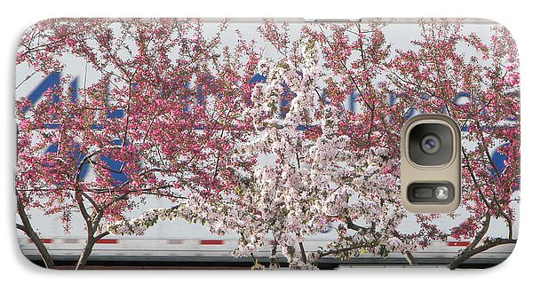 Galaxy Case featuring the photograph Train Tracks by Michael Krek