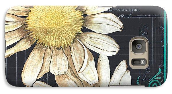 Daisy Galaxy S7 Case - Tranquil Daisy 1 by Debbie DeWitt