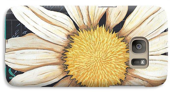 Daisy Galaxy S7 Case - Tranquil Daisy 2 by Debbie DeWitt