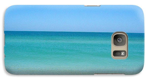 Galaxy Case featuring the photograph Tranquil Gulf Pond by David Nicholls