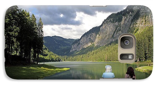 Galaxy Case featuring the photograph Tranquil Lake by Rod Jones