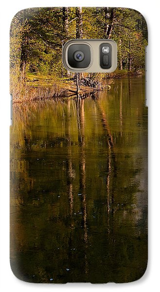 Galaxy Case featuring the photograph Tranquil Merced River by Duncan Selby
