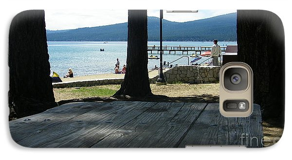 Galaxy Case featuring the photograph Tranquil Moment by Bobbee Rickard