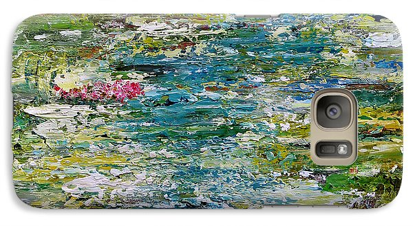 Galaxy Case featuring the painting Tranquil Moments by Katie Black