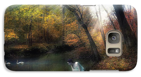 Galaxy Case featuring the photograph Tranquil Place by John Rivera