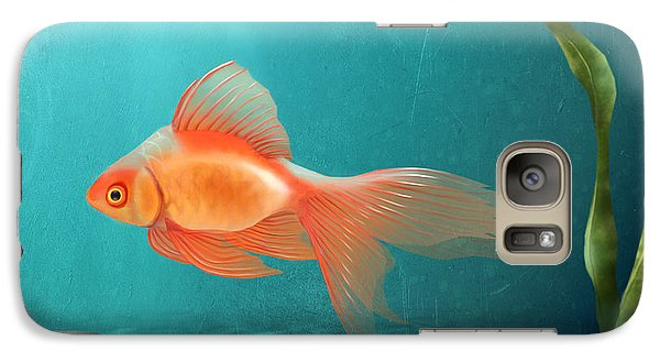 Goldfish Galaxy S7 Case - Tranquility by April Moen