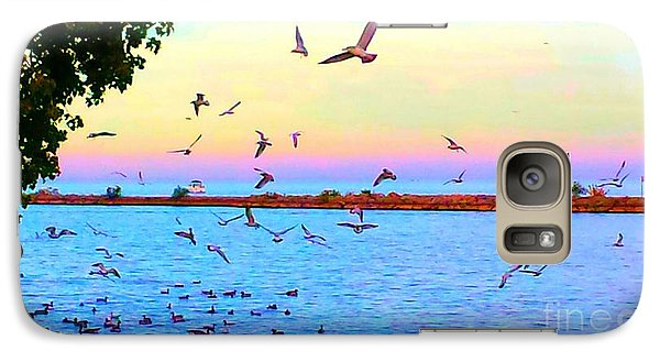 Galaxy Case featuring the photograph Tranquility by Judy Via-Wolff