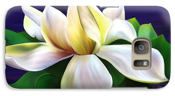 Galaxy Case featuring the painting Tranquility by Laura Bell