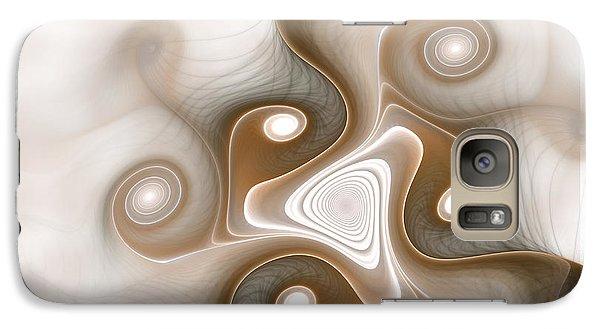 Galaxy Case featuring the digital art Tranquility by Svetlana Nikolova