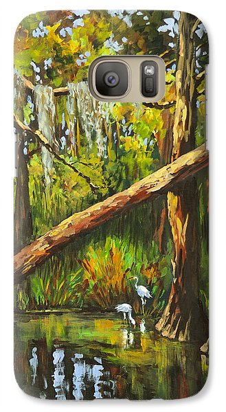 Galaxy Case featuring the painting Tranquillity by Dianne Parks