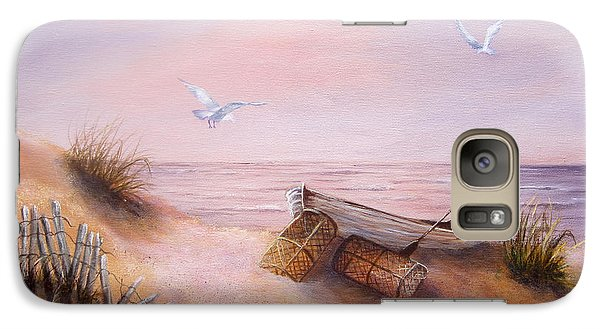 Galaxy Case featuring the painting Tranquility by Roseann Gilmore
