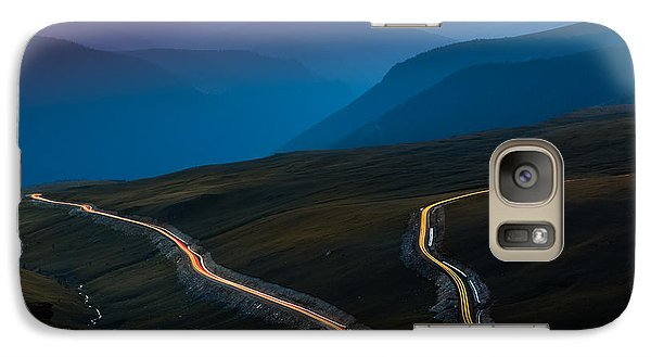 Galaxy Case featuring the photograph Transalpina by Mihai Andritoiu