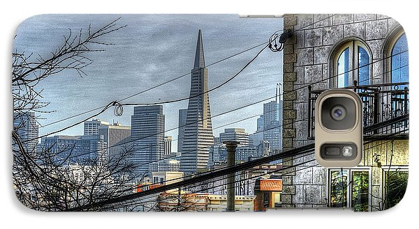 Galaxy Case featuring the photograph Transamerica View by Kevin Ashley