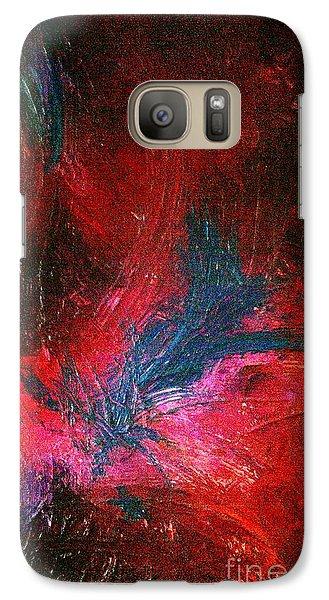 Galaxy Case featuring the painting Transformation by Jacqueline McReynolds