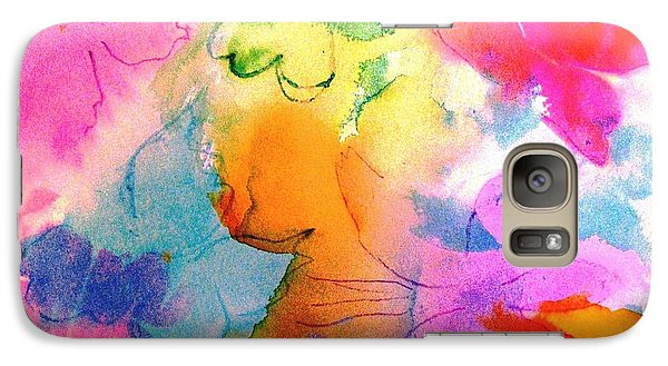 Galaxy Case featuring the painting Transformed Into His Image by Hazel Holland
