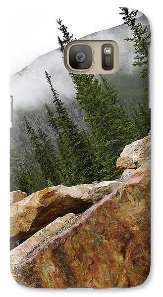 Galaxy Case featuring the photograph Transition by Rhonda McDougall