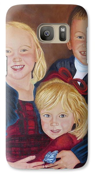 Galaxy Case featuring the painting Transition by Sharon Schultz