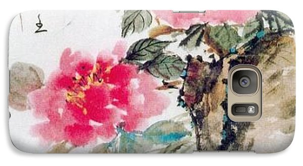 Galaxy Case featuring the painting Transparent by Fereshteh Stoecklein