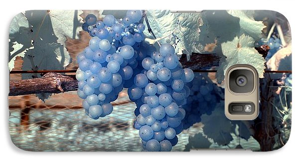 Galaxy Case featuring the photograph Transparent Grapes by Rebecca Parker