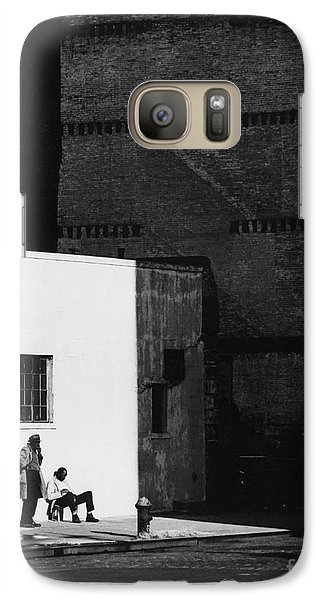 Galaxy Case featuring the photograph Trapped by Erik Falkensteen