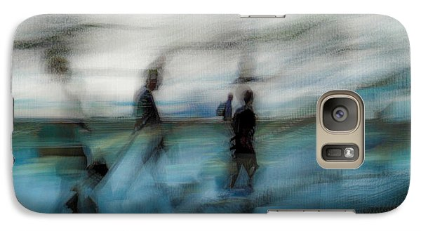 Galaxy S7 Case featuring the photograph Travel Blues by Alex Lapidus