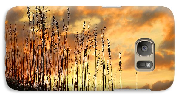 Galaxy Case featuring the photograph Treasure Island Sunset by Oscar Alvarez Jr