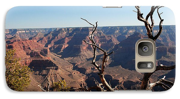 Galaxy Case featuring the photograph Tree At Grand Canyon by Robert  Moss