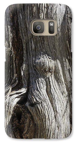 Galaxy Case featuring the photograph Tree Bark No. 3 by Lynn Palmer