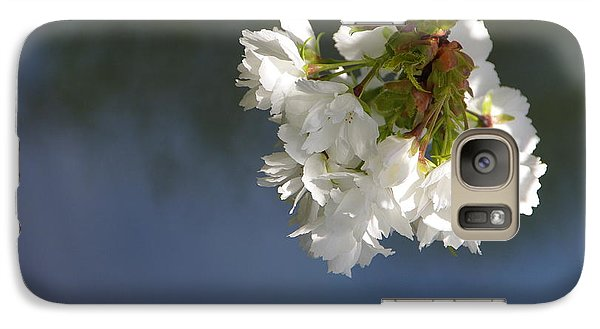 Galaxy Case featuring the photograph Tree Blossoms by Marilyn Wilson